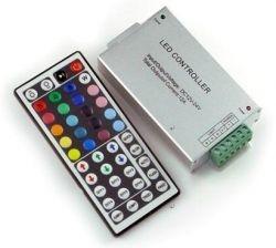 КОНТРОЛЕР ЗА RGB 144W  с IR дистанционно управление-44 key