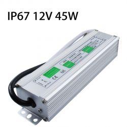 водонепроницаемо захранване за светодиодно осветление 12V 45W