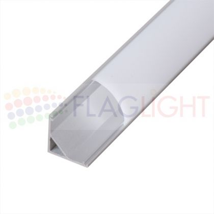 Алуминиев профил 3м за LED лента (ъглов)