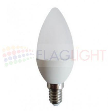 LED ЛАМПИ Е14 6 W кендъл