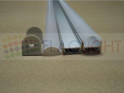 Алуминиев профил 2м за LED лента U-тип