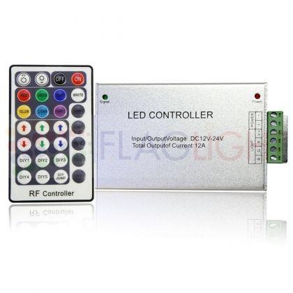 КОНТРОЛЕР ЗА RGB лента 28 key с RF дистанционно управление