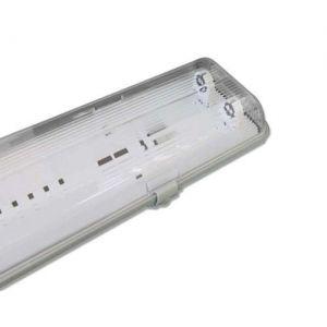 IP65 Hermetic Fixture 2xT8 LED 120sm