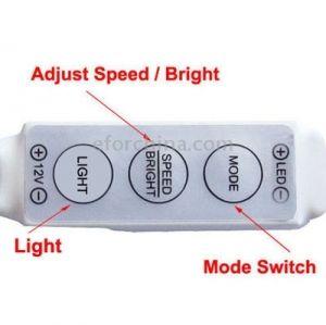 Мини Димер за LED ленти 144W