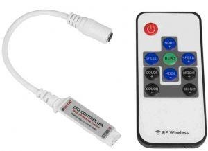 LED мини контролер с безжично RF дистанционно управление